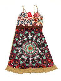 Vestido hippie étnico detalle del producto