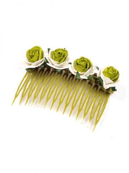 Artículos para el pelo - Peineta de Flores [PZFLP01] para comprar al por mayor o detalle  en la categoría de Complementos Hippies Étnicos Alternativos.