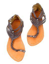 Sandalia dedo, gladiator de detalle del producto