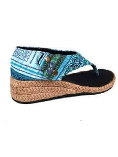 Hippies Sandals and Clogs - High wedge sandal ZNN02.