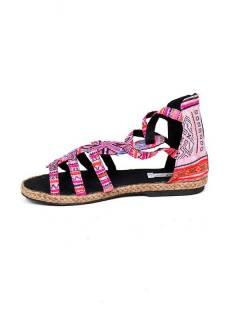 Sandalias y Zuecos Hippies - Sandalia bota romana étnica [ZNN07] para comprar al por mayor o detalle  en la categoría de Sandalias Hippies Étnicas.