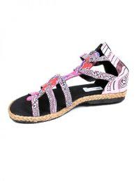 Sandalias Zapatos Zuecos - Sandalia realizada realizada ZNN07 - Modelo Rosa17