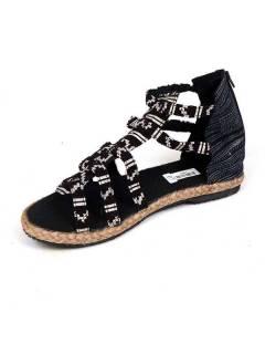 Sandalia bota romana étnica ZNN07 para comprar al por mayor o detalle  en la categoría de Ropa Hippie Alternativa para Hombre.
