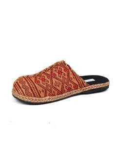 Hmong Clog Loom and hemp .. Sandals and Clogs to buy wholesale or detail in the category of Hippie Footwear for Men and Women | ZAS Hippie Store. [ZNN08]