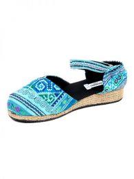 Zueco zapato estilo menorquina Mod Azul17