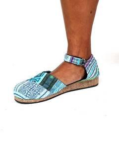 Sandalias y Zuecos Hippies - Zueco zapato estilo menorquina ZNN11B.