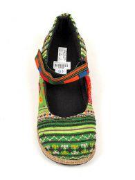 Zapato abierto punta redondeada detalle del producto