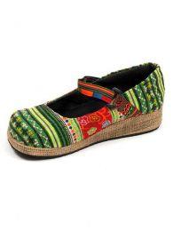 Zapato abierto punta redondeada Mod Verde
