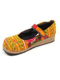 Zapato abierto punta redondeada Mod Naranja