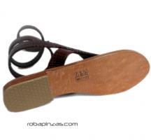 Sandalia: suela de Piel planta detalle del producto