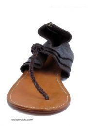 sandalias piel de pitón, detalle del producto
