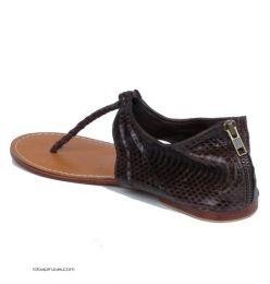 sandalias piel de pitón, Mod M2