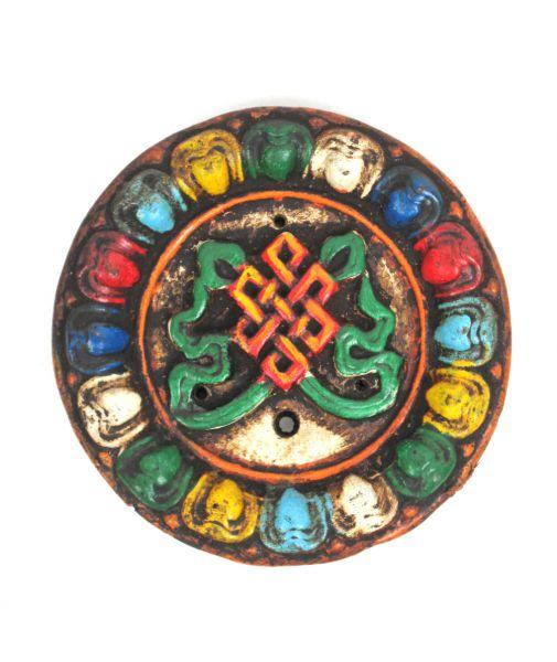 Quemador de incienso realizado en cerámica y decorado por artseanos Comprar - Venta Mayorista y detalle
