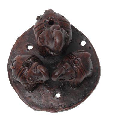 Quemador incienso cerámica 3 elefantes Comprar - Venta Mayorista y detalle