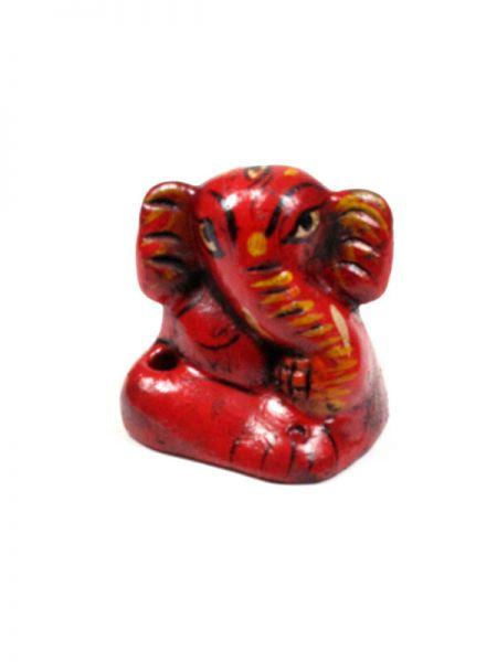 Portaincienso ganesh pequeño decorado a mano de cerámica Comprar - Venta Mayorista y detalle