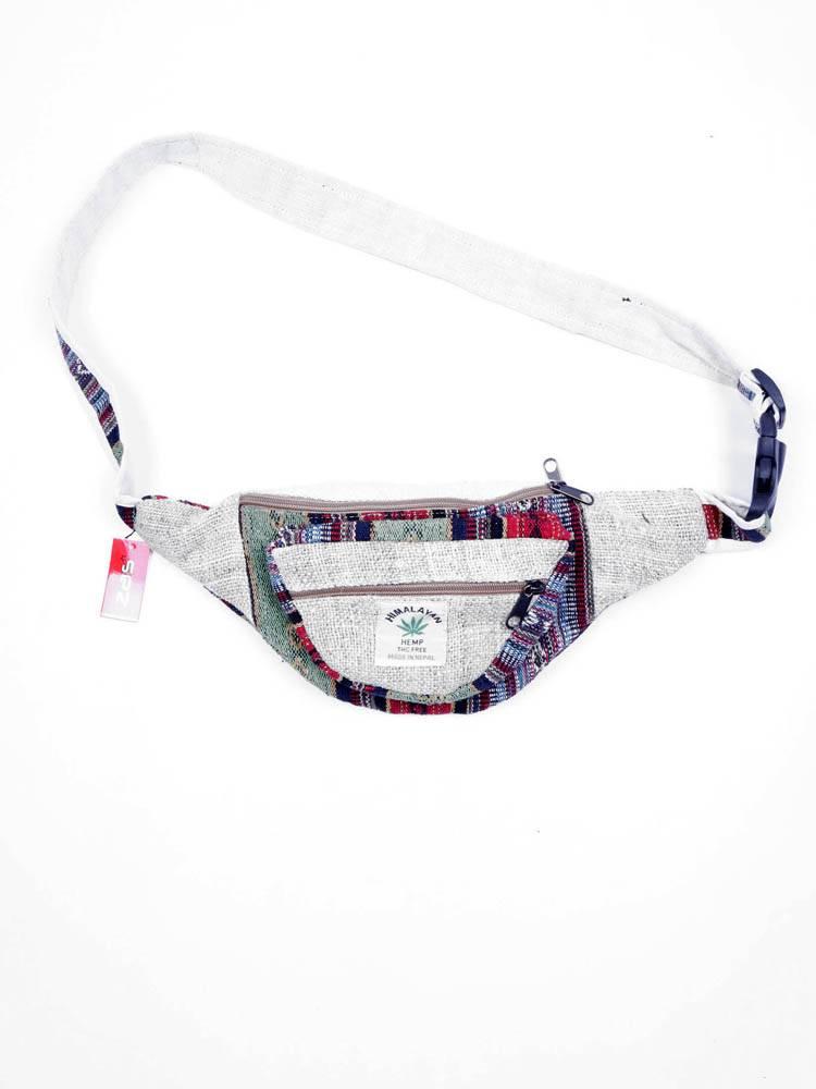 Riñonera Cáñamo Hemp y algodón [RIKA03]. Riñoneras / Cartucheras para comprar al por mayor o detalle  en la categoría de Complementos Hippies Alternativos.