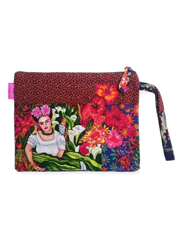 Colección Catkini - Frida Kahlo - Neceser/Sobre Grande Estampados Frida Kahlo. [SOMEPO] para comprar al por mayor o detalle  en la categoría de Complementos Hippies Étnicos Alternativos.