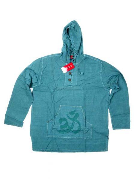 Sudadera Om estampado - Azul Comprar al mayor o detalle