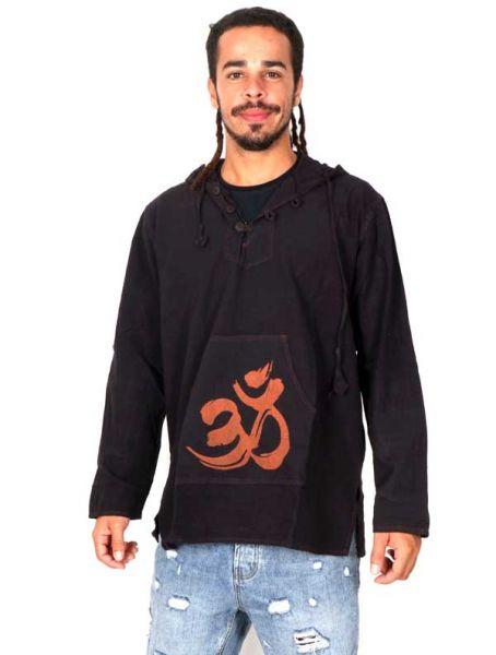 Sudaderas - Abrigos - Sudadera Om estampado [SUEV02] para comprar al por mayor o detalle  en la categoría de Ropa Hippie Alternativa para Hombre.