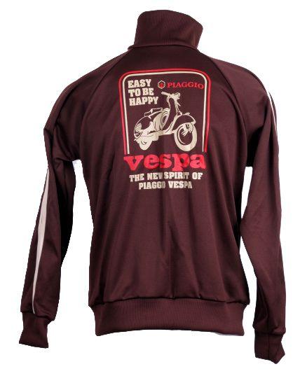a1ca08f8 Outlet Ropa Hippie - Sudadera vespa poliester con cuello alto cremallera y  bolsillos SUUH02 para comprar