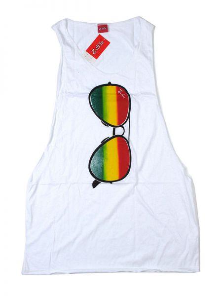 Camiseta tirantes gafas arcoiris. camiseta de tirantes 100% algodón Comprar - Venta Mayorista y detalle