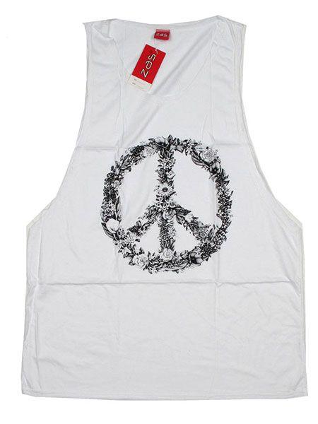 Camiseta tirantes flower peace Comprar - Venta Mayorista y detalle