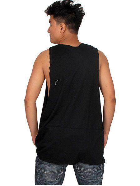 Camiseta de tirantes algodón larga y con los laterales Comprar - Venta Mayorista y detalle
