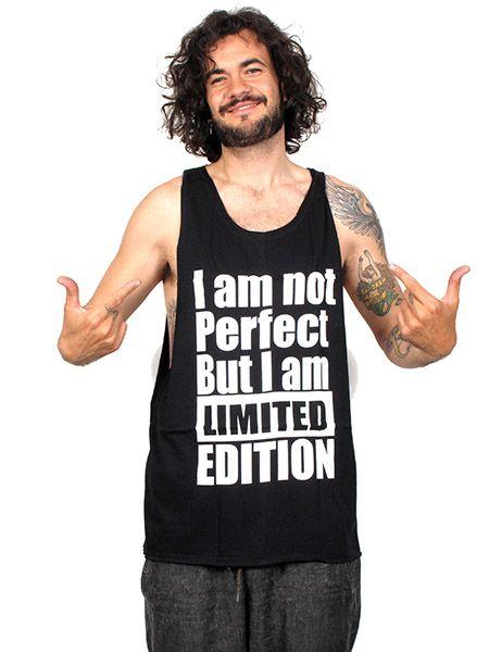 Camiseta tirantes Not perfect Comprar - Venta Mayorista y detalle