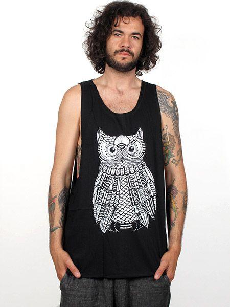 Camiseta de tirantes algodón larga y con los laterales abiertos, Comprar - Venta Mayorista y detalle