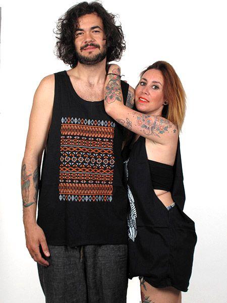 Outlet Ropa Hippie - Camiseta tirantes Ethnic TMBL13 para comprar al por Mayor o Detalle en la categoría de Outlet Hippie Étnico Alternativo