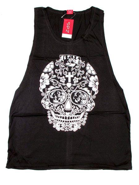 Camiseta tirantes Skull Comprar - Venta Mayorista y detalle