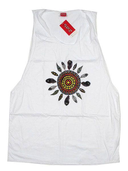 Camiseta tirantes Sun TMBL15 para comprar al por mayor o detalle  en la categoría de Outlet Hippie Étnico Alternativo.
