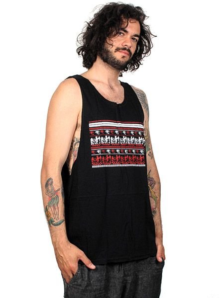 Outlet Ropa Hippie - Camiseta tirantes Ethnic 2 TMBL17 para comprar al por Mayor o Detalle en la categoría de Outlet Hippie Étnico Alternativo