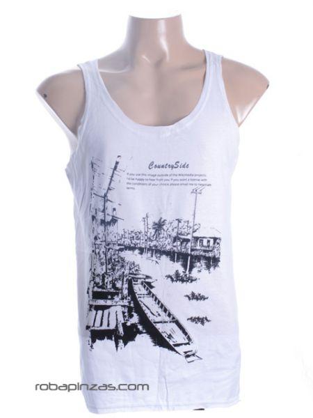 Camiseta de tirantes Country Side, para chico, algodón Comprar - Venta Mayorista y detalle