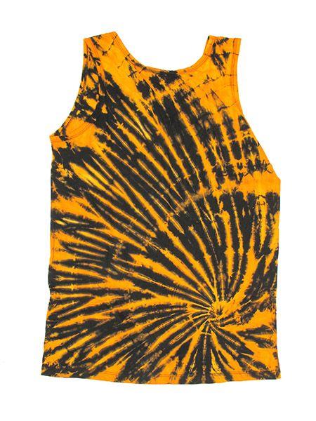 Camiseta tirantes 100% algodón teñida con la técnica Comprar - Venta Mayorista y detalle