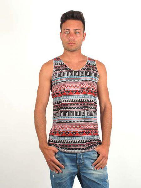 camseita tirantes estampado étnico. camiseta de tirantes 100% Comprar - Venta Mayorista y detalle