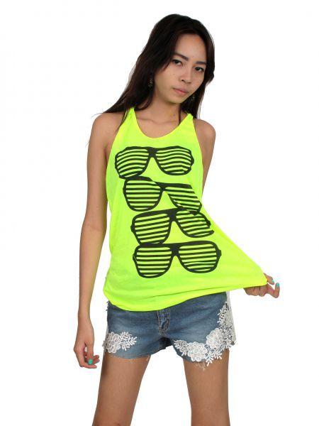 Top tirantes gafas persiana. camiseta de tirantes con espalda abierta Comprar - Venta Mayorista y detalle