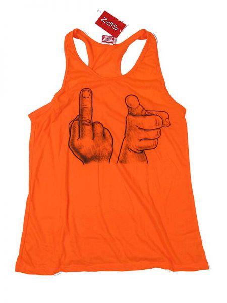 Top tirantes Fuck You. camiseta de tirantes con espalda abierta 100% Comprar - Venta Mayorista y detalle