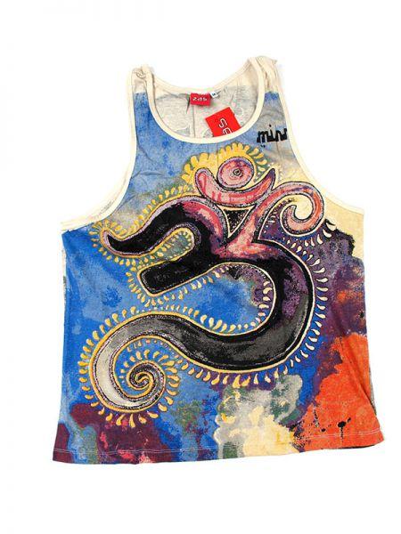 Camiseta tirantes Om hindú Mirror. Camiseta de tirantes para chico Comprar - Venta Mayorista y detalle