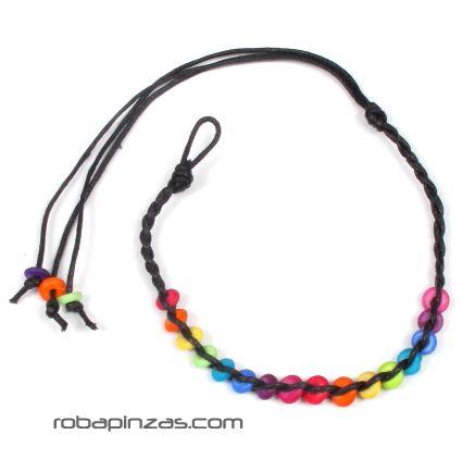 Tobillera hippie de cuentas de colores [TOCU-A] para Comprar al mayor o detalle