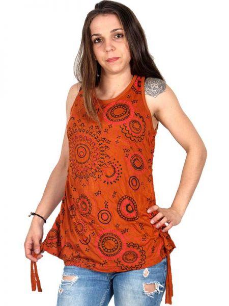 Top blusa de algodón estampados , con manga en pico abierta Comprar - Venta Mayorista y detalle