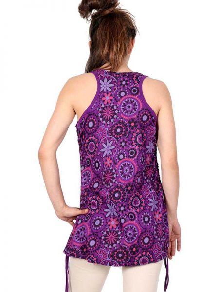 Top Blusa rayón estampado - Detalle Comprar al mayor o detalle