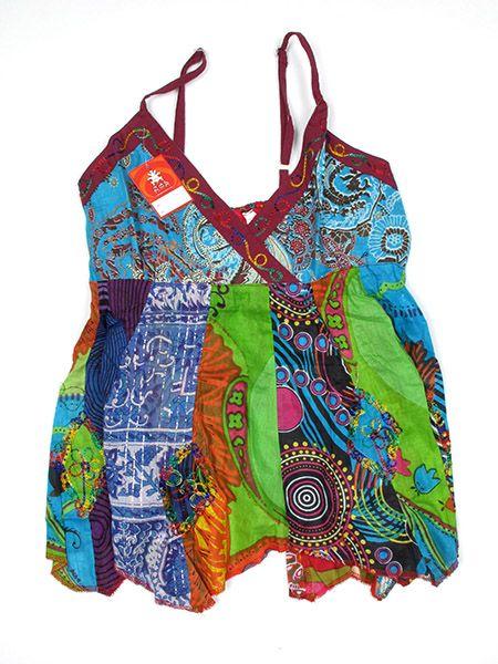Top hippie patchwork India - 166 Comprar al mayor o detalle