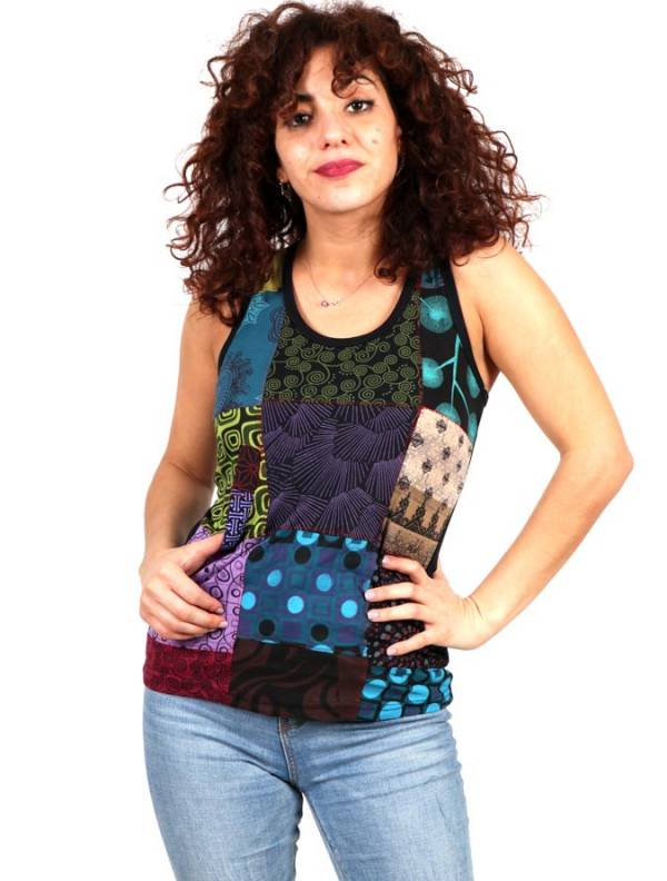 Top Hippie Patchwork [TOHC18] para Comprar al mayor o detalle