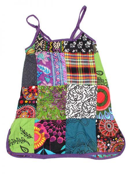 Top patchwork de algodón con tirante regulable. Los colores Comprar - Venta Mayorista y detalle