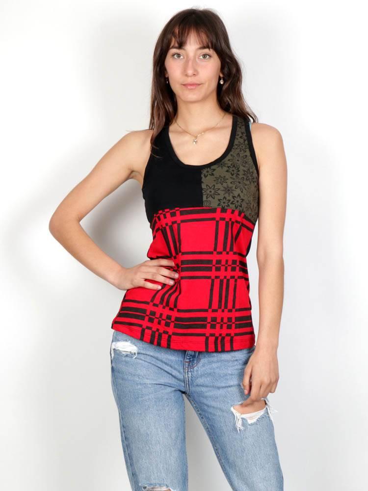 Top hippie patch tirantes TOHC31 para comprar al por mayor o detalle  en la categoría de Ropa Hippie Alternativa para Mujer.