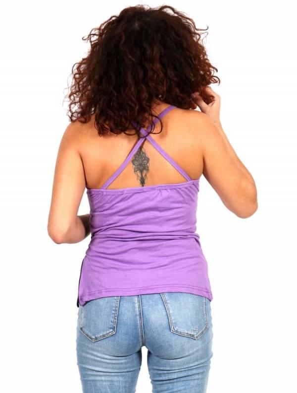 Top hippie con bolsillo - Detalle Comprar al mayor o detalle