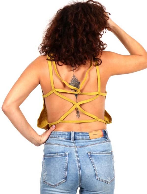 Top hippie tirante cruzado [TOHC36] para comprar al por Mayor o Detalle en la categoría de Camisetas Blusas y Tops