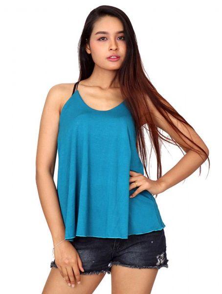 Top blusa amplia tirante fino TOJO07 para comprar al por mayor o detalle  en la categoría de Ropa Hippie Alternativa Chicas.