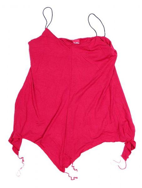 Camisetas y Tops Hippies - top blusa amplia expandex TOJO09 - Modelo Rojo